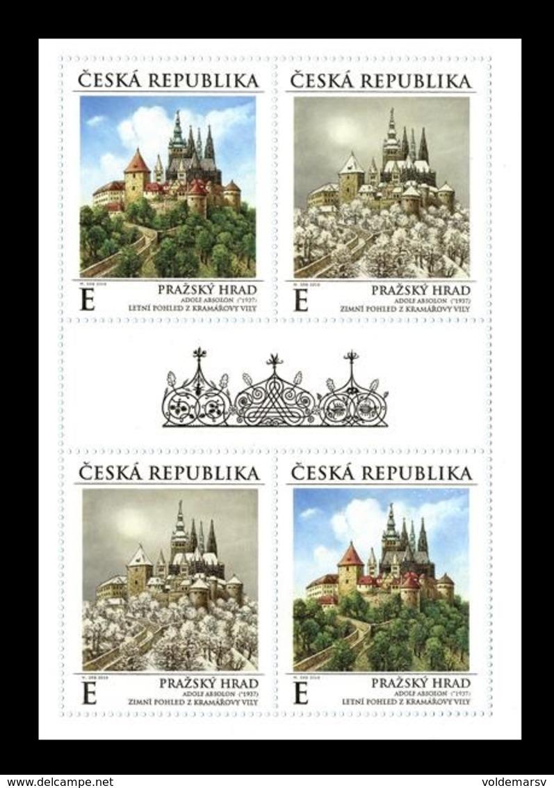 Czech Republic 2019 Mih. 1025/26 Prague Castle In The Seasons Of The Year (M/S) MNH ** - Czech Republic