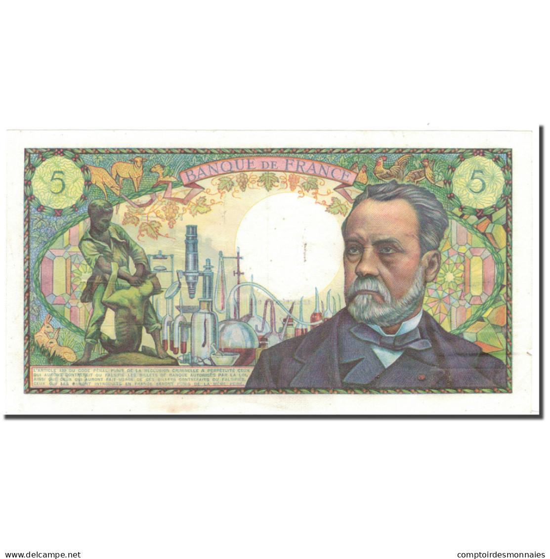 France, 5 Francs, Pasteur, 1966-07-07, SUP, Fayette:61.2, KM:146a - 5 F 1966-1970 ''Pasteur''