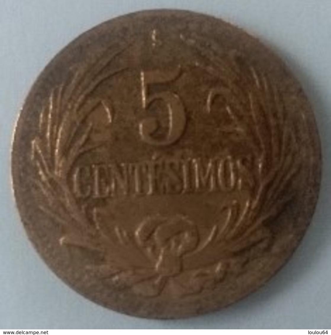 URUGUAY - 5 Centesimos 1951 - - Uruguay