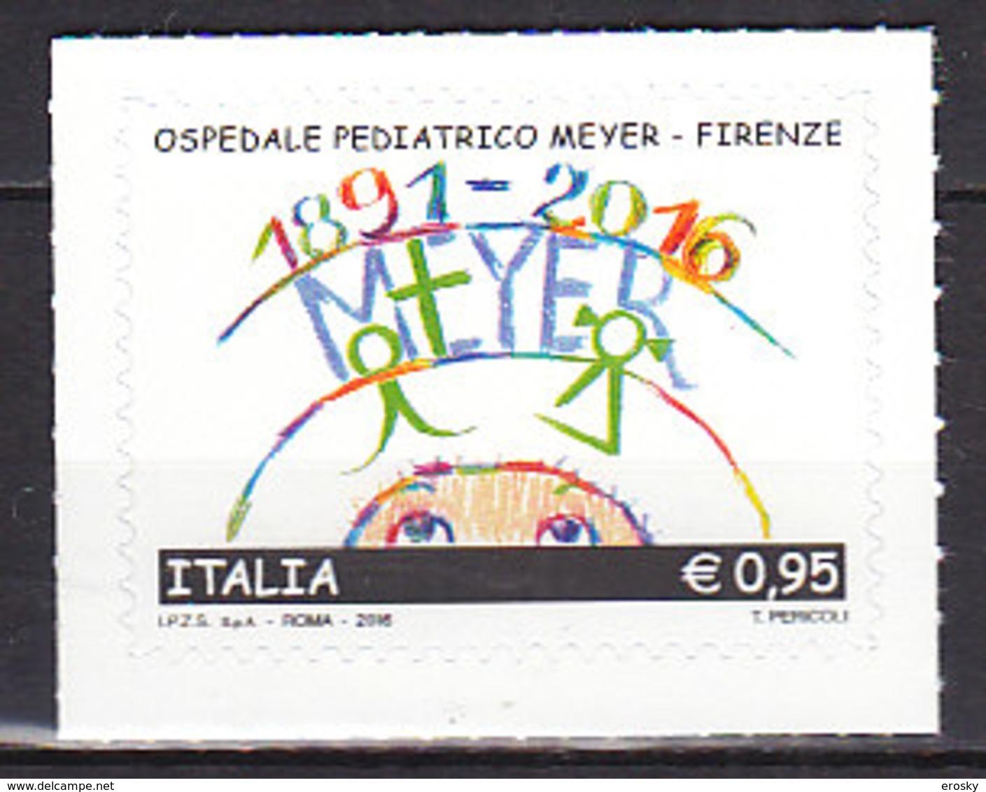 PGL DE0356 - ITALIA REPUBBLICA 2016 SASSONE N°3661 ** - 6. 1946-.. Repubblica