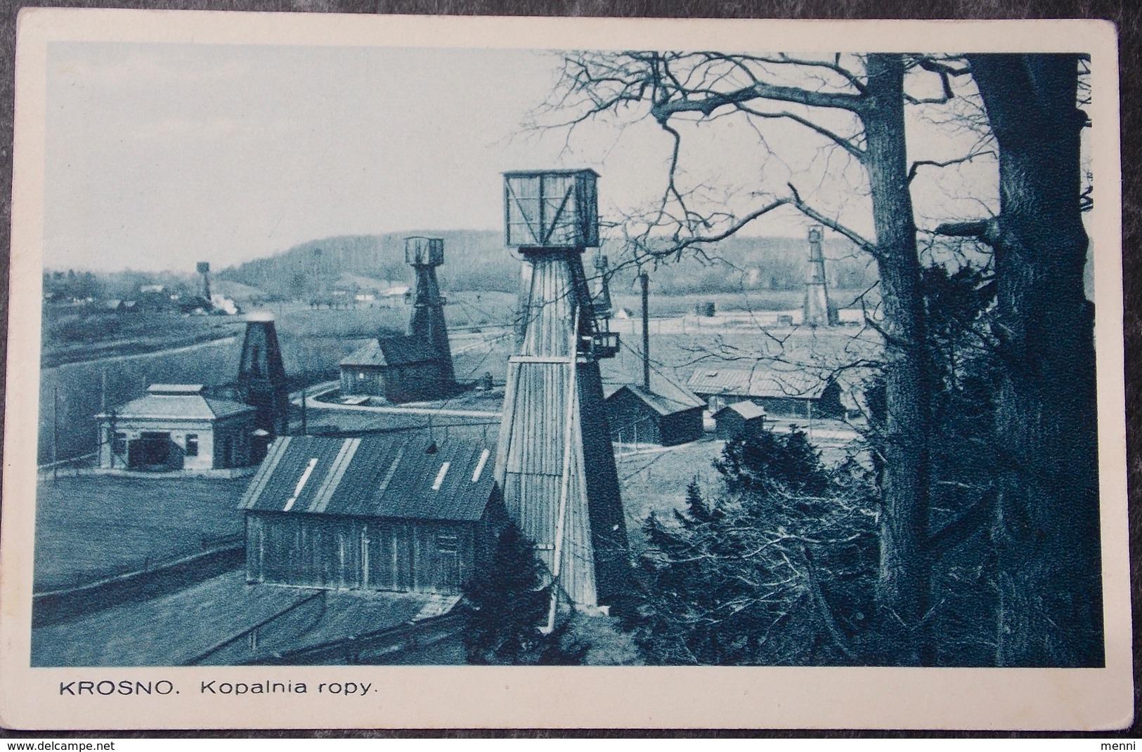 POLEN POLAND POLOGNE -  Krosno - 1934 Kopalnia Roby - Polen