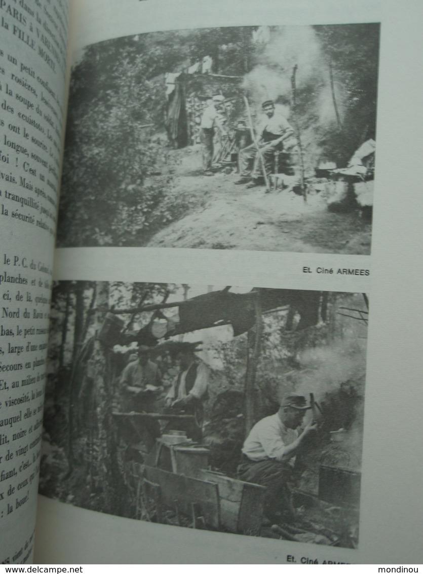 La Guerre 1914-18 En Argonne Fascicule N ° 7 La Guerre Dans La Forêt  1914 - 1915 Haute-Chevauchée 1975 - 1914-18
