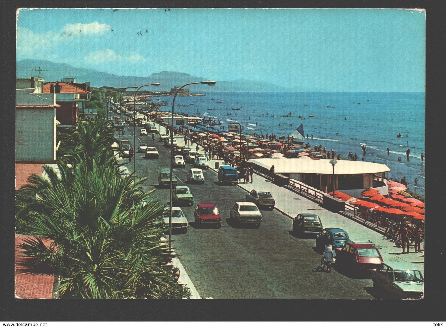 Terracina - Lungomare Circe - Vintage Cars - Latina