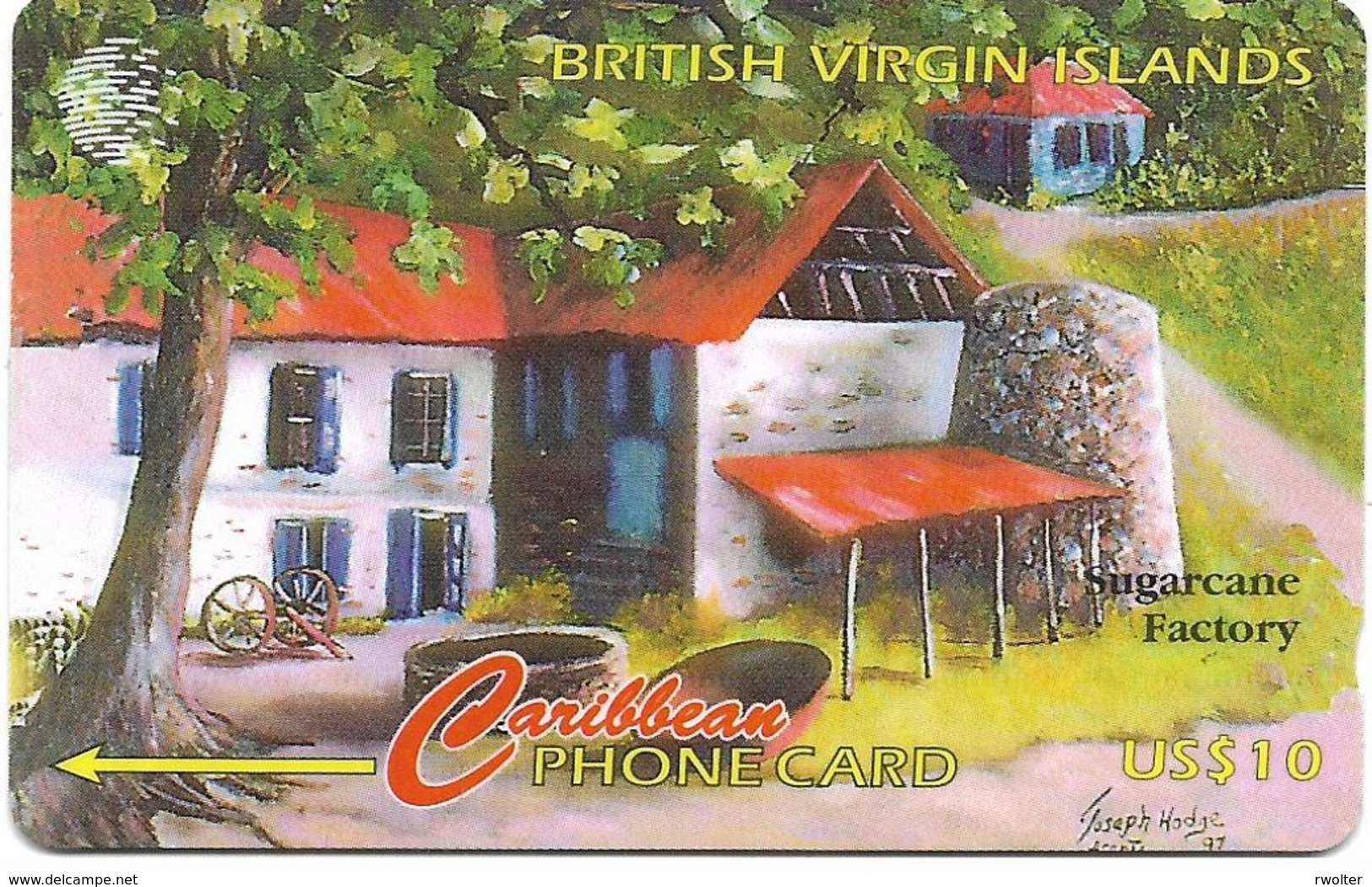@+ Iles Vierges Britaniques - Sugarcane Factory : 218SCVVB...... Ref: BVI-218BA - Vierges (îles)