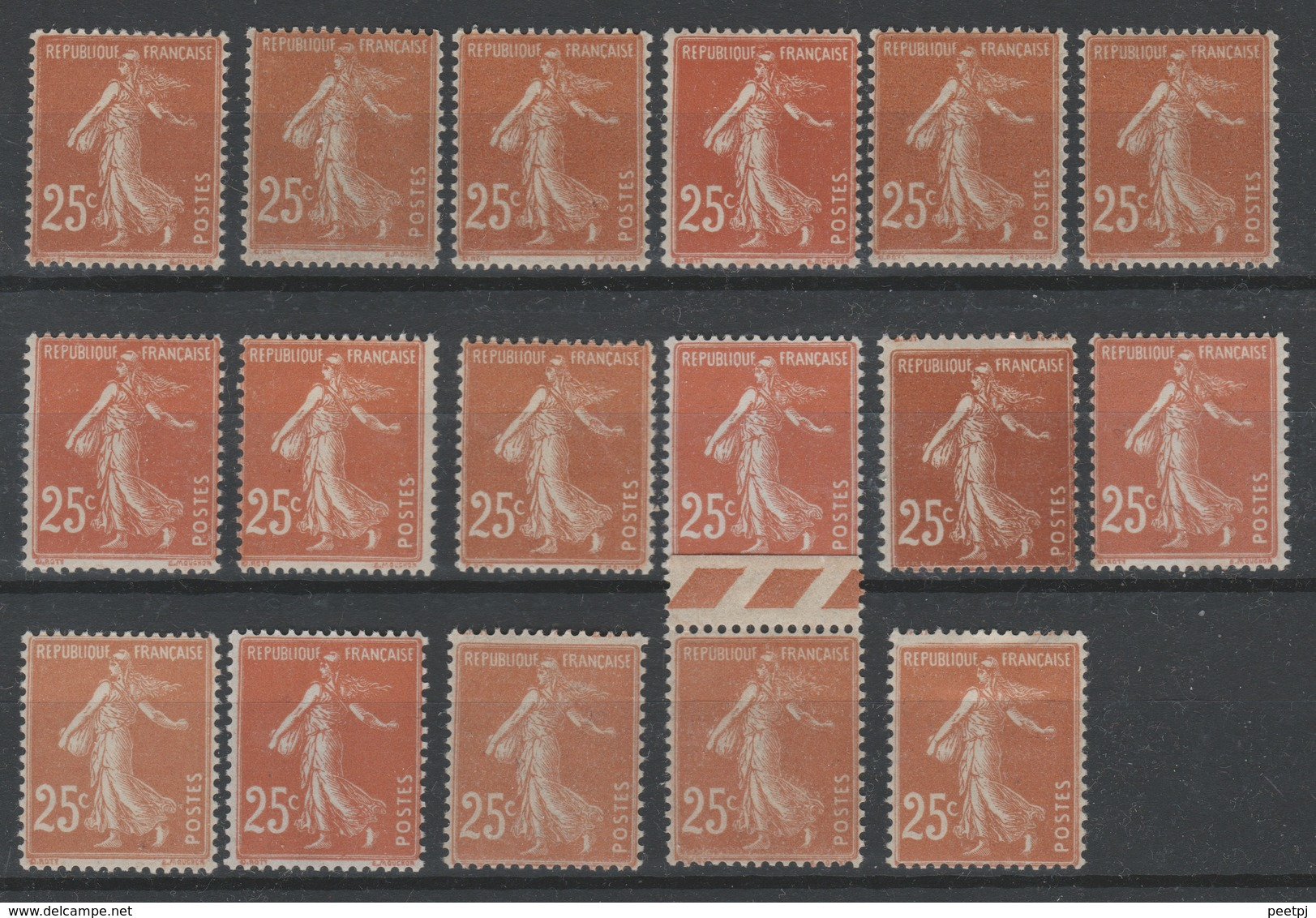 France - 1927 - TYPE SEMEUSE  - ** - Y&T 235 - - 1906-38 Semeuse Camée