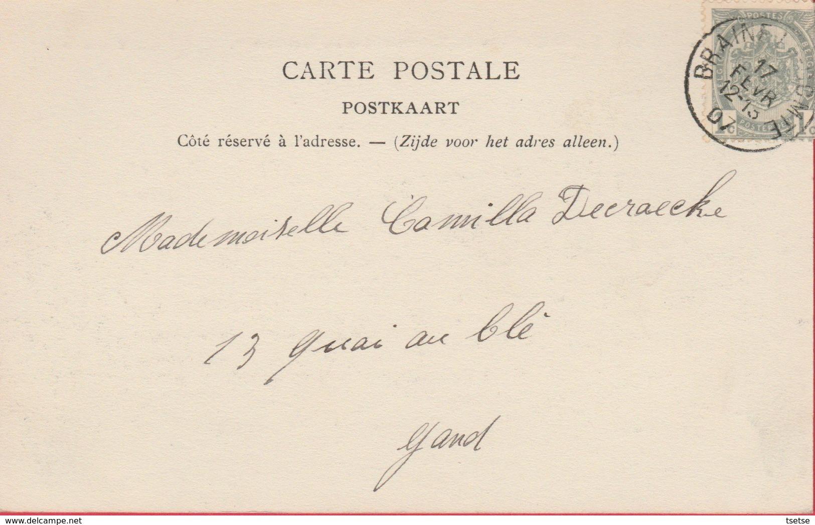 Soignies - Carrières Du Nouveau Monde- Une Rampe - 1907 ( Voir Verso ) - Soignies