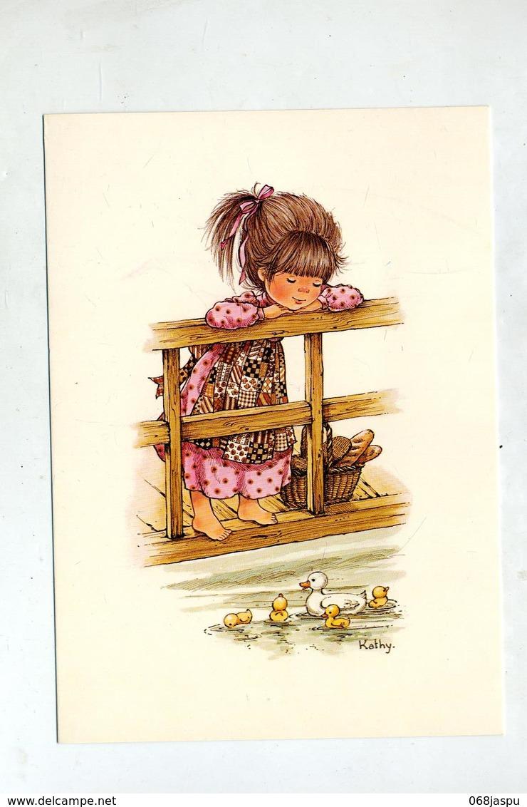 Carte Fille Kathy Theme Canars Pain Cachet Saint Louis Sur Sabine + - Dessins D'enfants