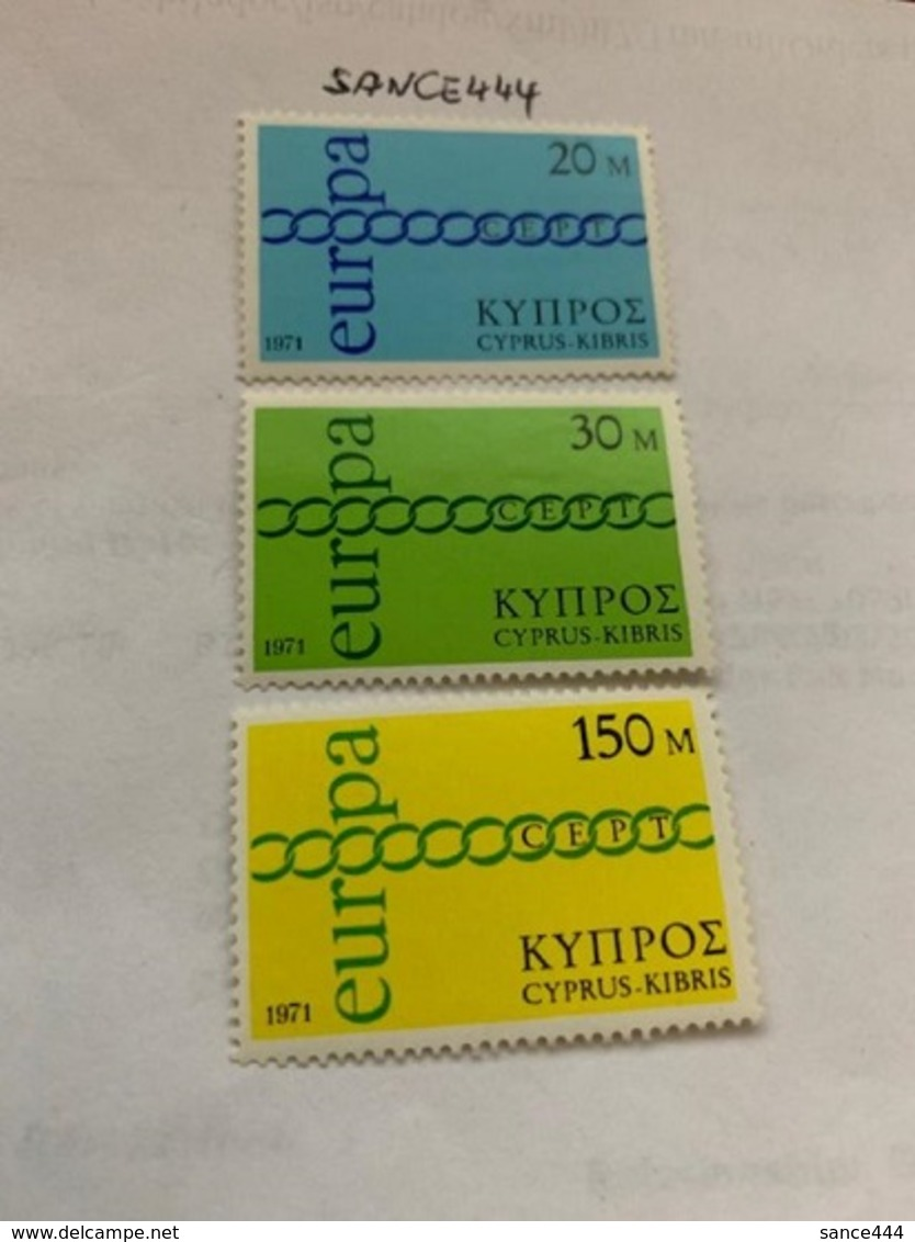 Cyprus Europa 1971 Mnh - Cyprus (Republic)