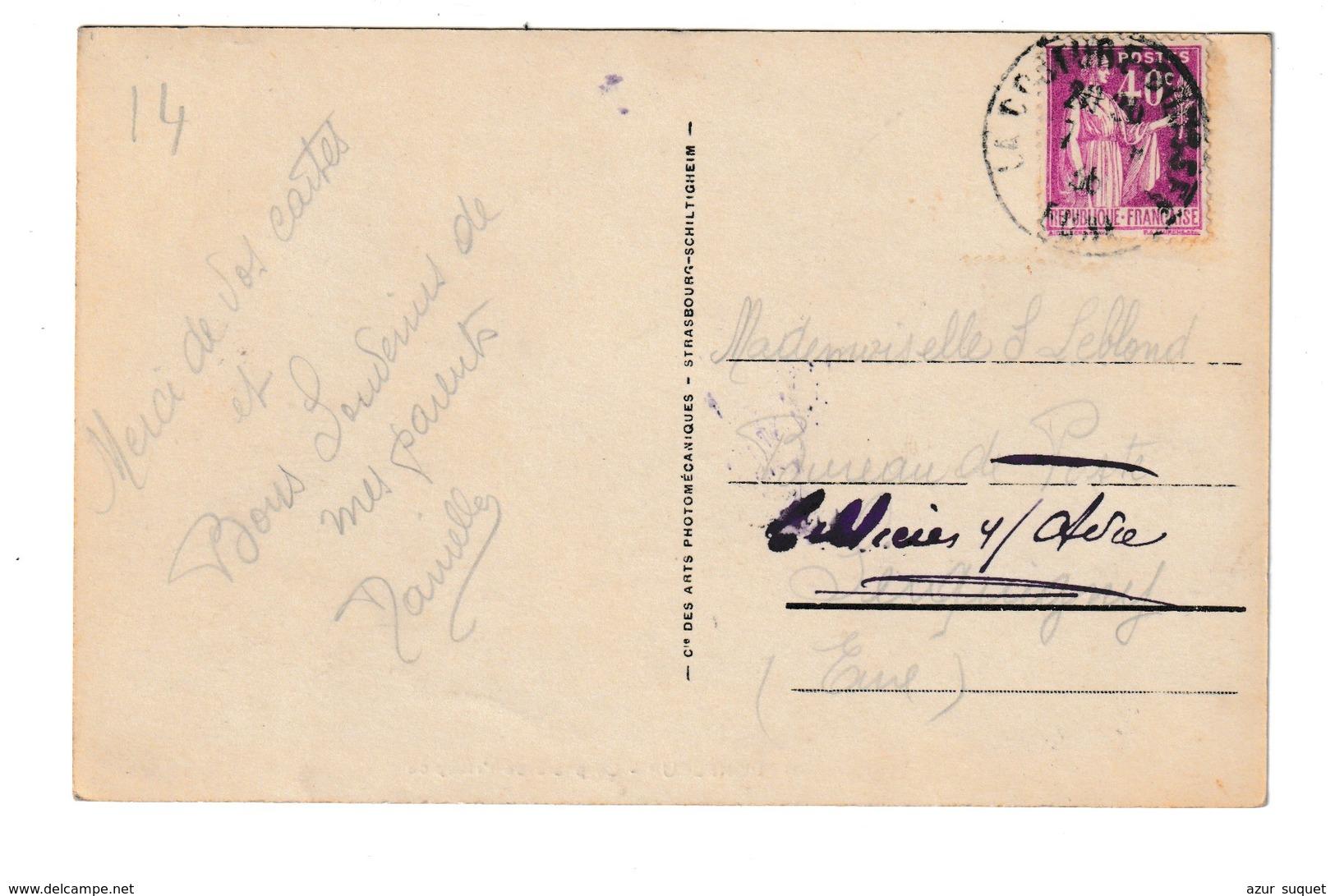 FRANCE / CPA / HONFLEUR / LE PHARE DE L'HOSPICE / 1914 - Honfleur