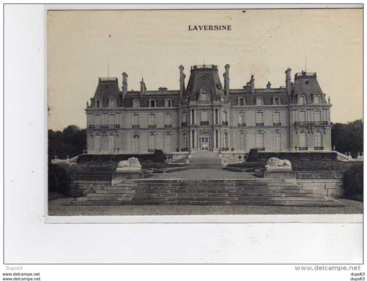 Château De LAVERSINE - Très Bon état - Other Municipalities