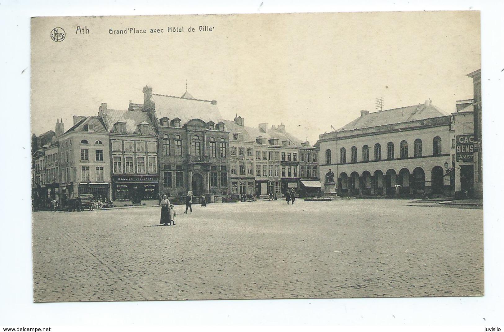 Ath Grand Place Et Hotel De Ville - Ath