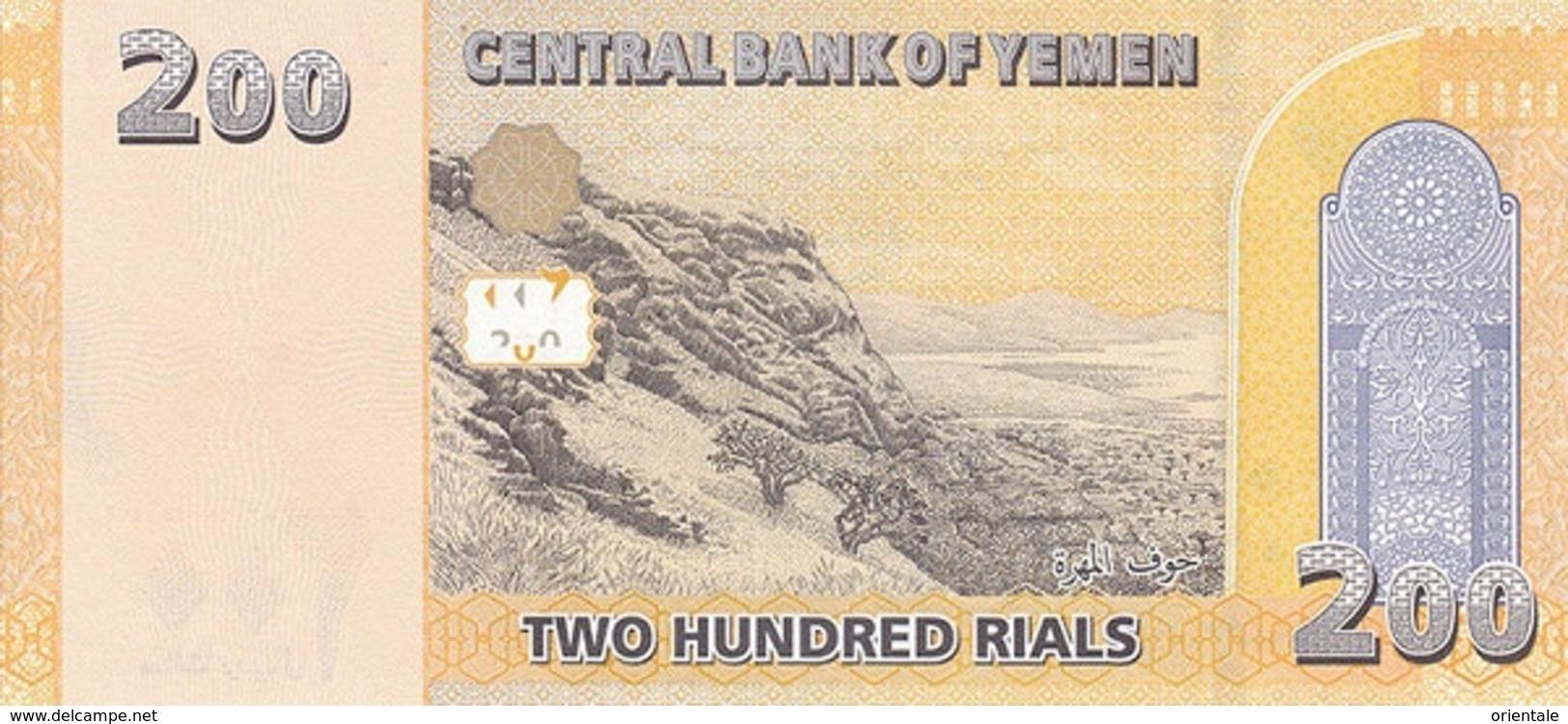 YEMEN ARAB P. 38 200 R 2018 UNC - Yemen