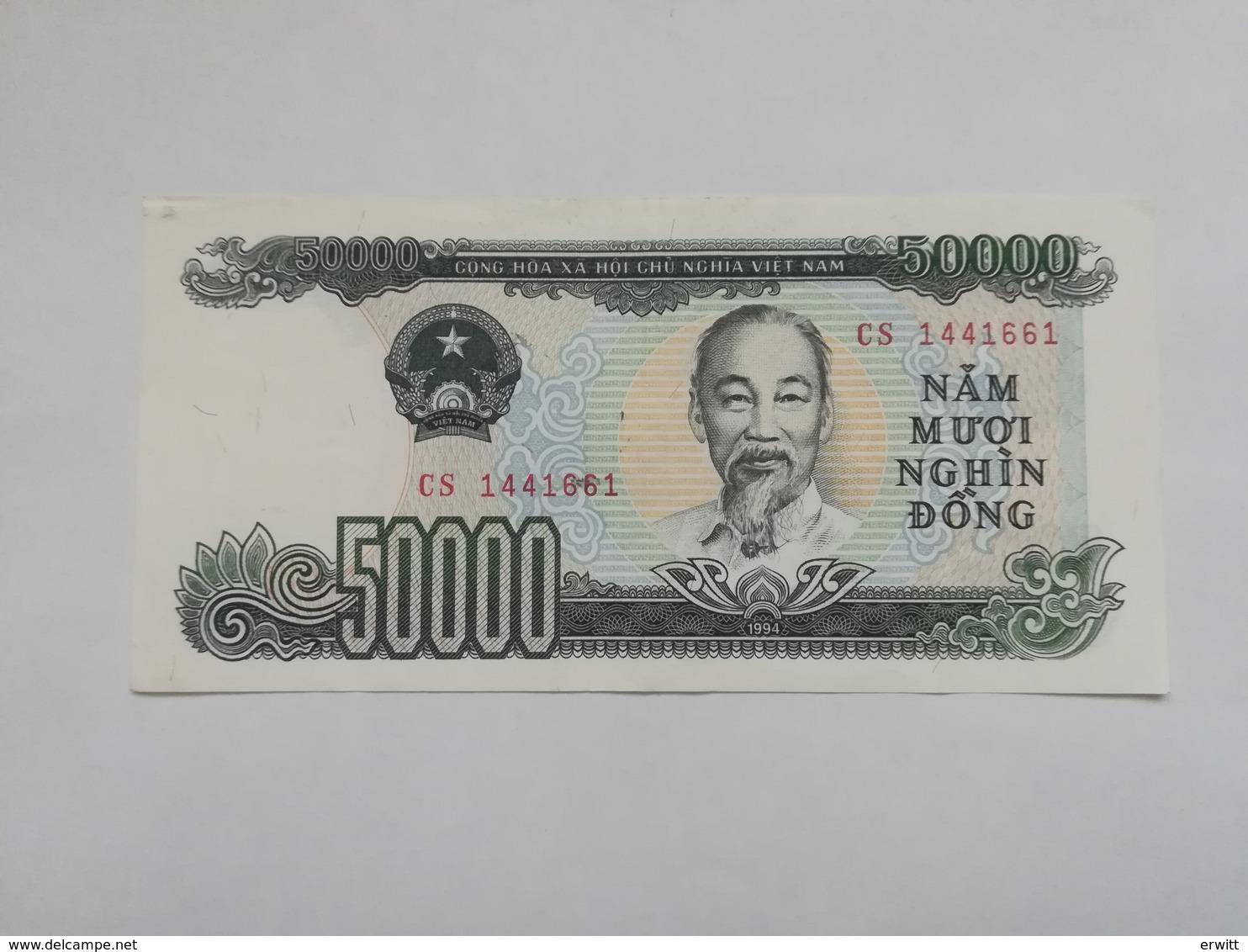 VIETNAM 50000 DONG 1994 - Vietnam