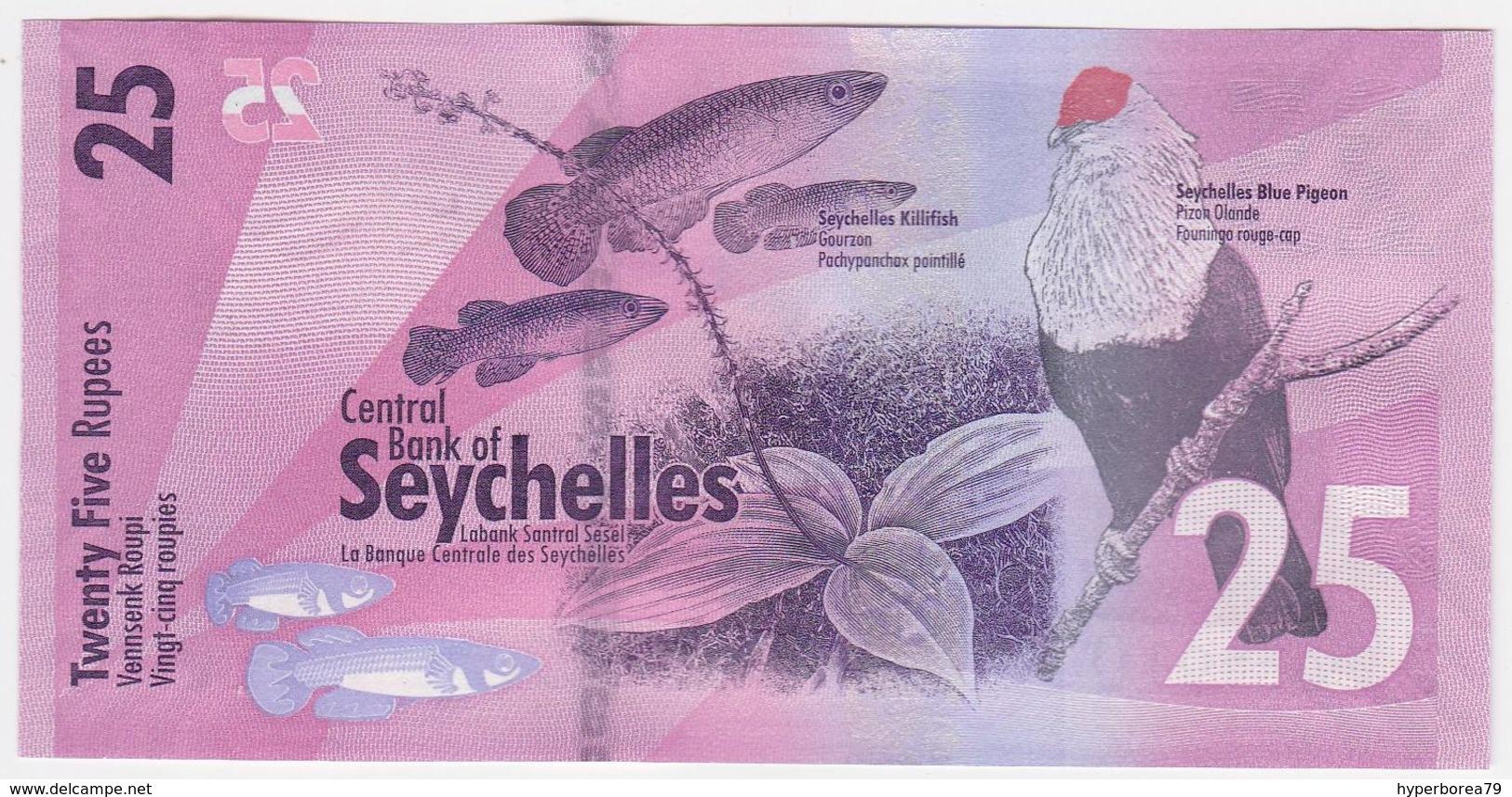 Seychelles P 48 - 25 Rupees 2016 - UNC - Seychellen