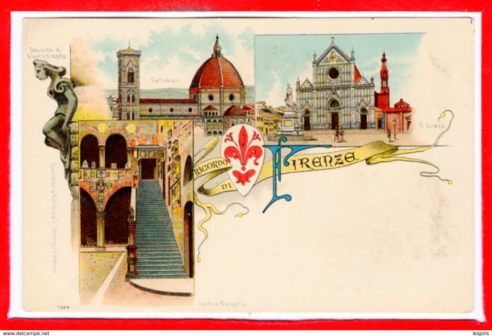 ITALIE - FIRENZE - Ricordo - Etat - Firenze (Florence)
