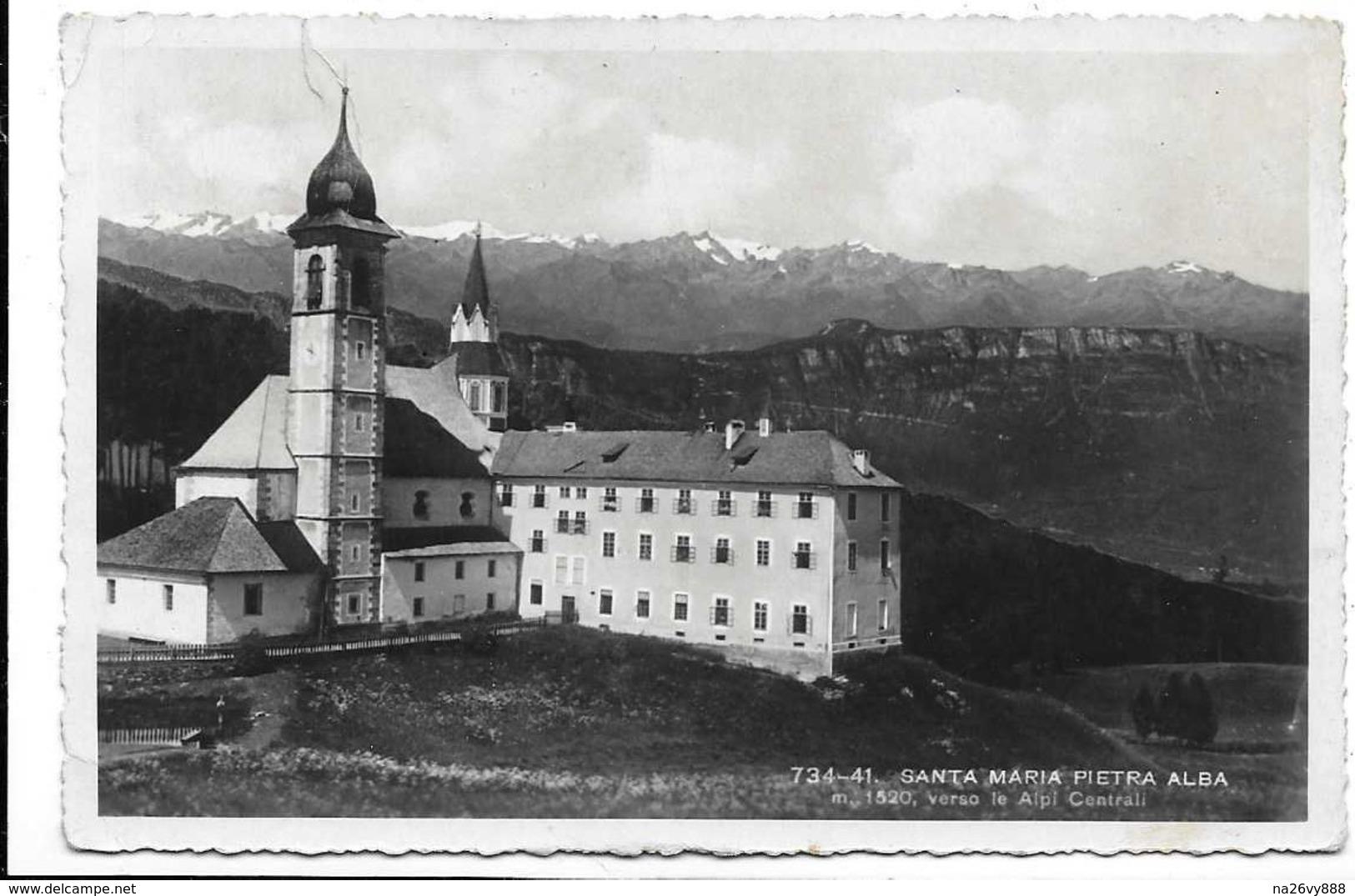 Santa Maria Pietra Alba (Bolzano). - Bolzano