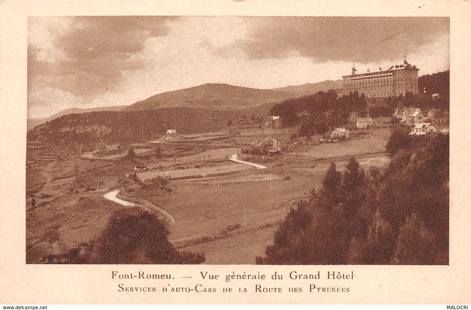 66-FONT ROMEU-N°1148-D/0211 - France