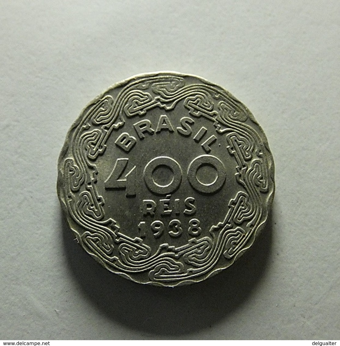 Brazil 400 Reis 1938 - Brazil