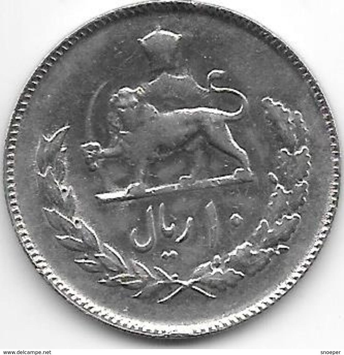 *iran 10 Rials Sh 1352 Km 1178 Unc - Iran