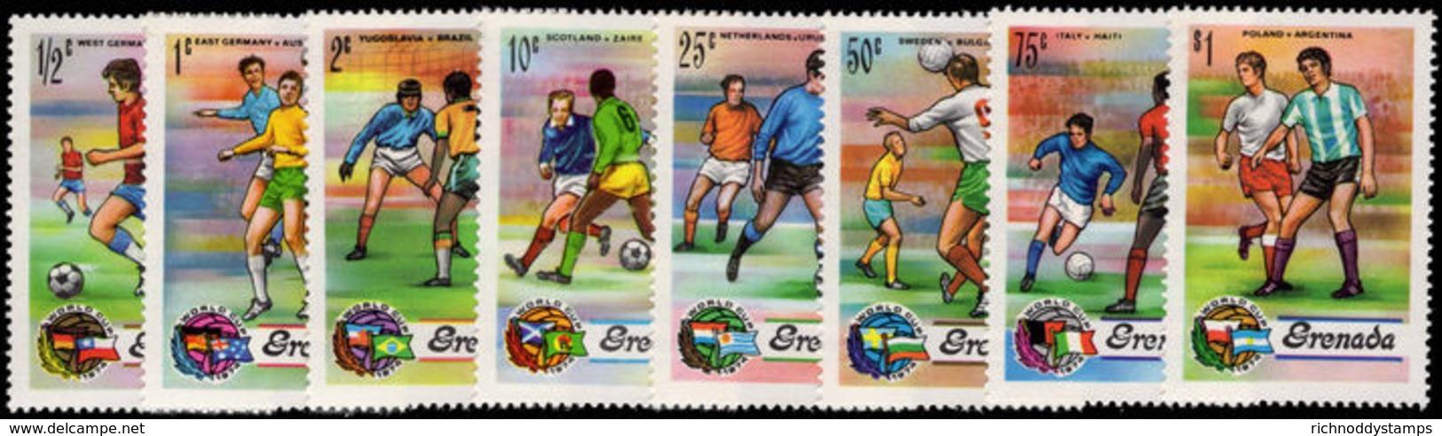 Grenada 1974 World Cup Football Unmounted Mint. - Grenada (1974-...)