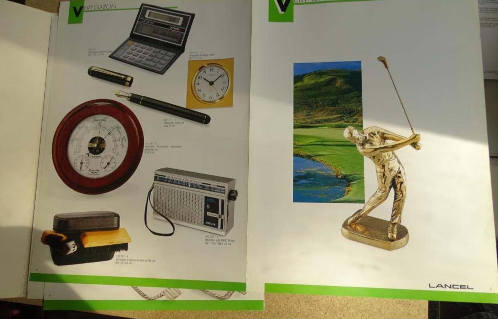 Catalogue Port Folio Lancel Cadeaux D'affaires - Stylo Bibelot Déco Etc - Unclassified