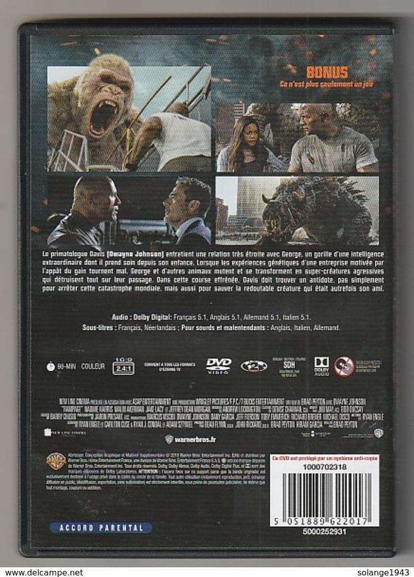 DVD Rampage  HORS DE CONTROLE  Etat: TTB - Science-Fiction & Fantasy