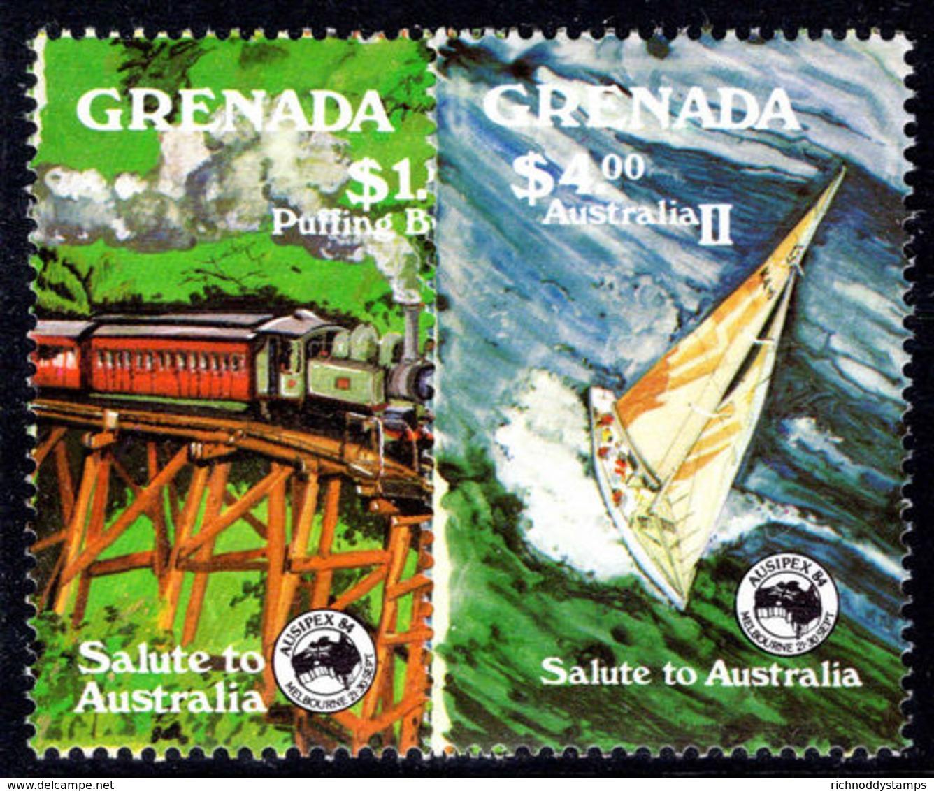 Grenada 1984 Ausipex Unmounted Mint. - Grenada (1974-...)