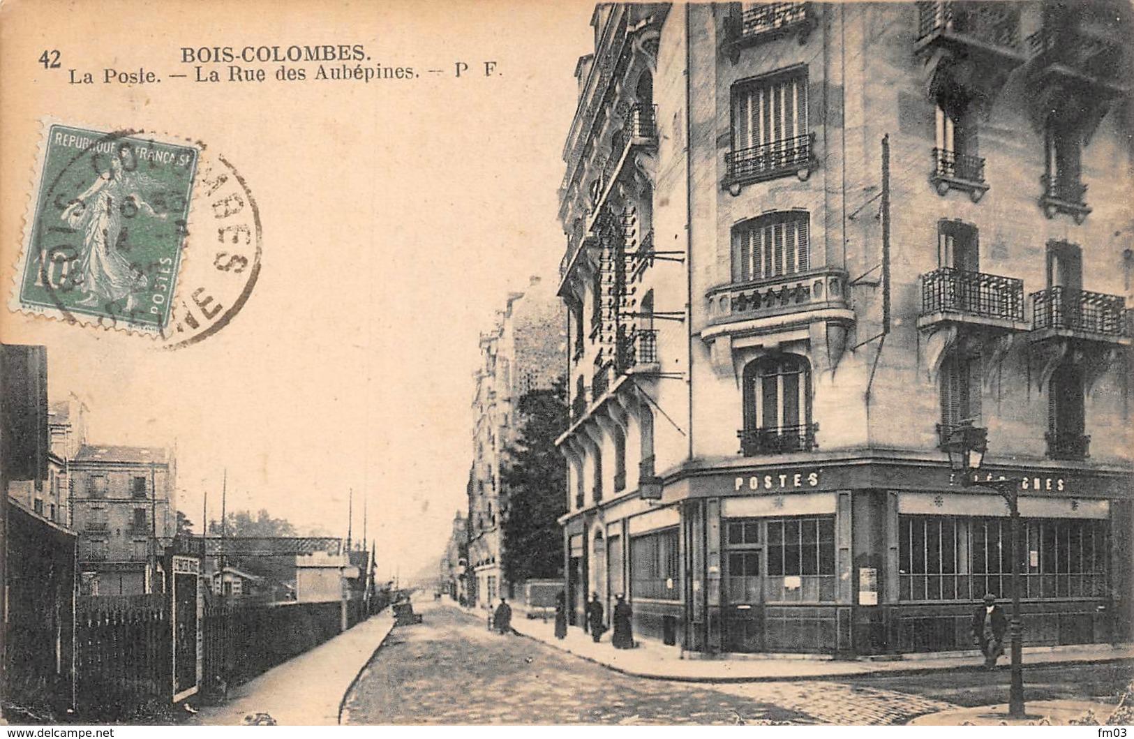 Bois Colombes Poste Postes - France