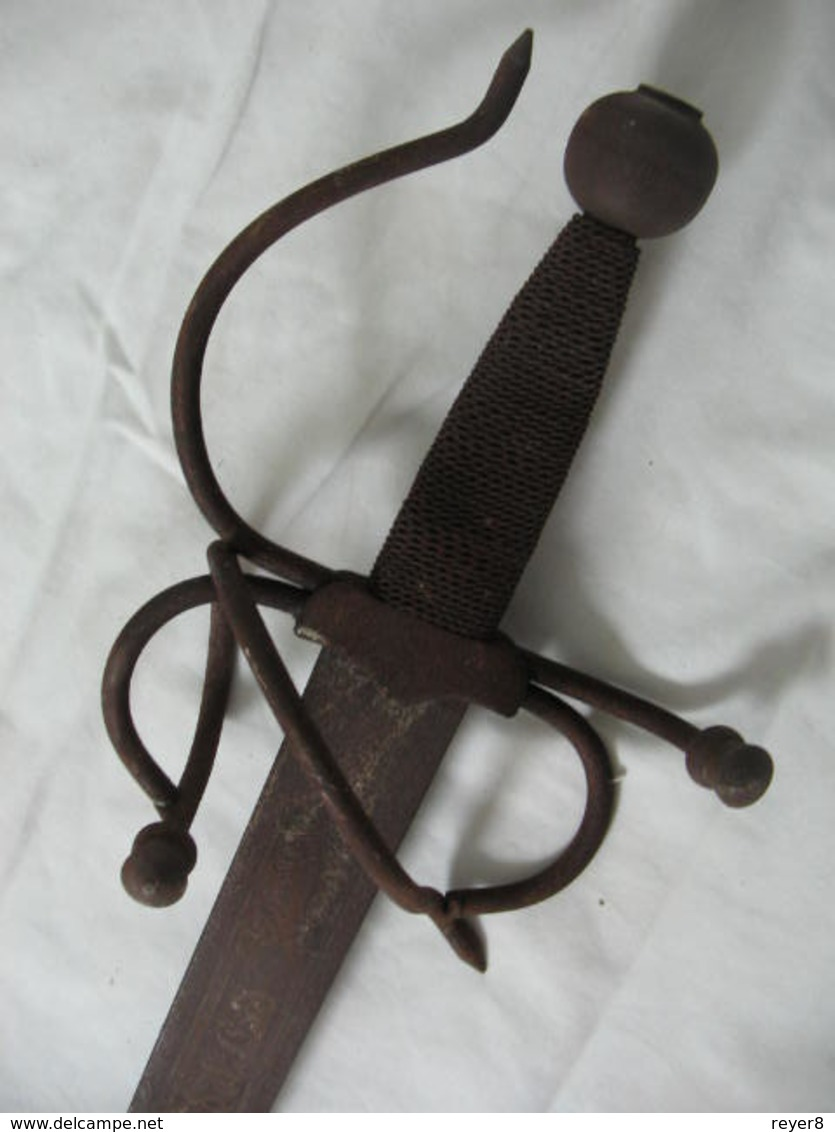 Ancien Sabre Glaive - Knives/Swords
