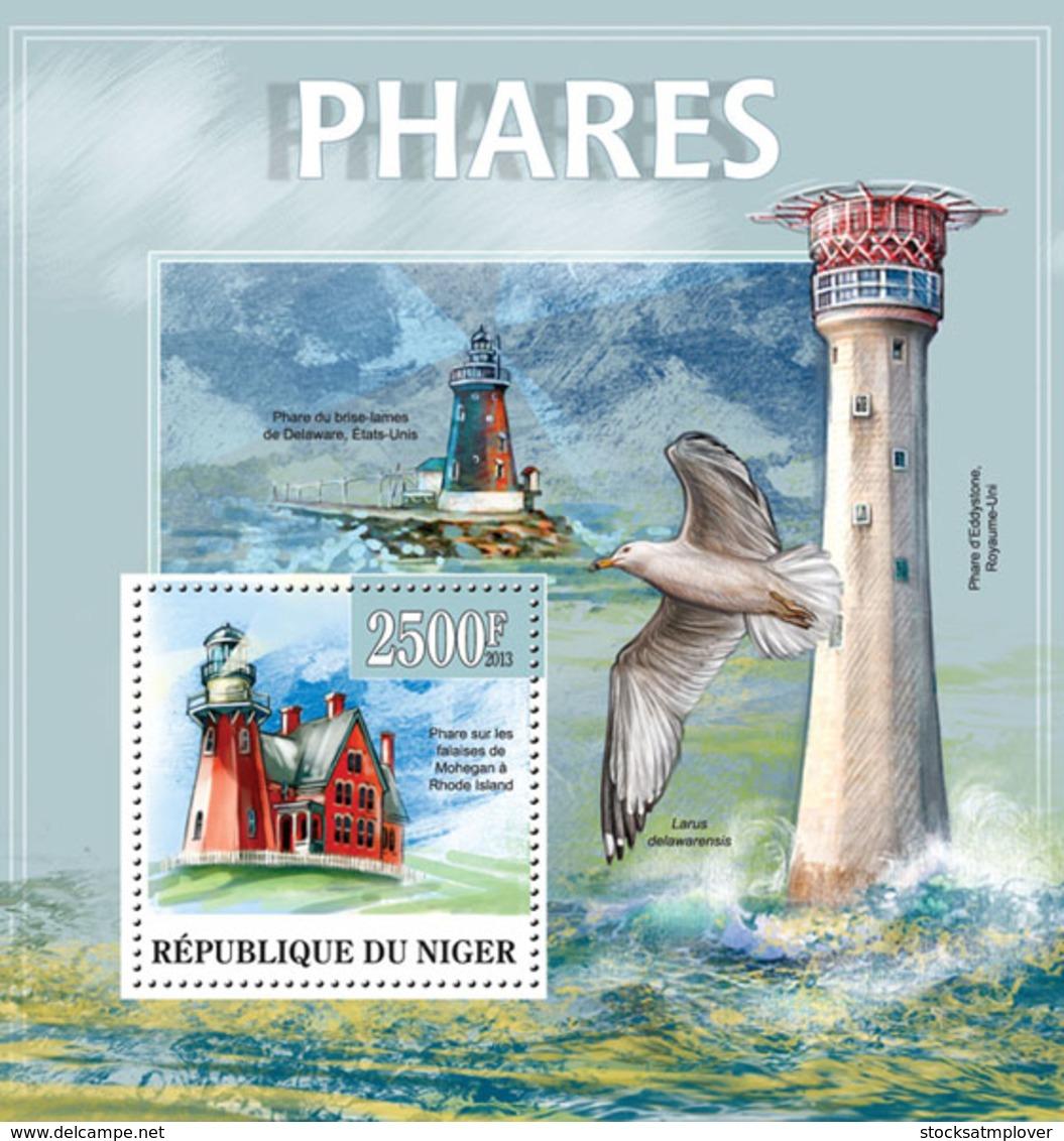 Niger 2013 Lighthouses - Niger (1960-...)