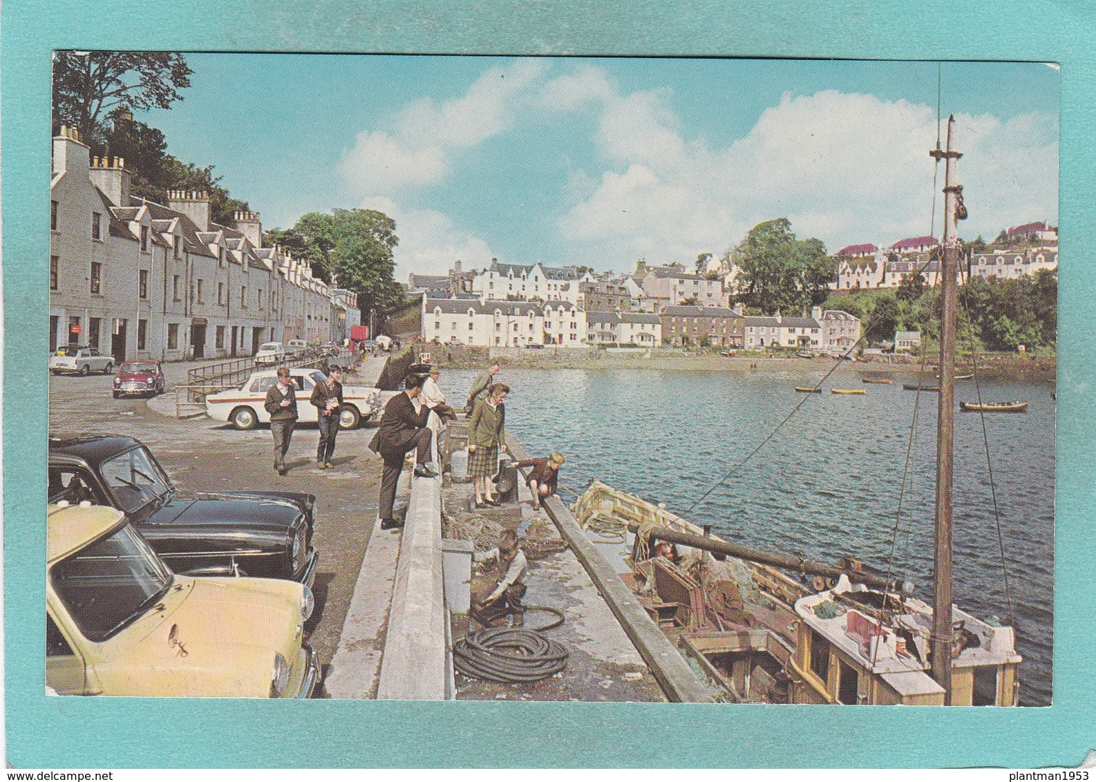 Small Post Card Of Portree,Isle Of Skye,Inverness,V96. - Inverness-shire