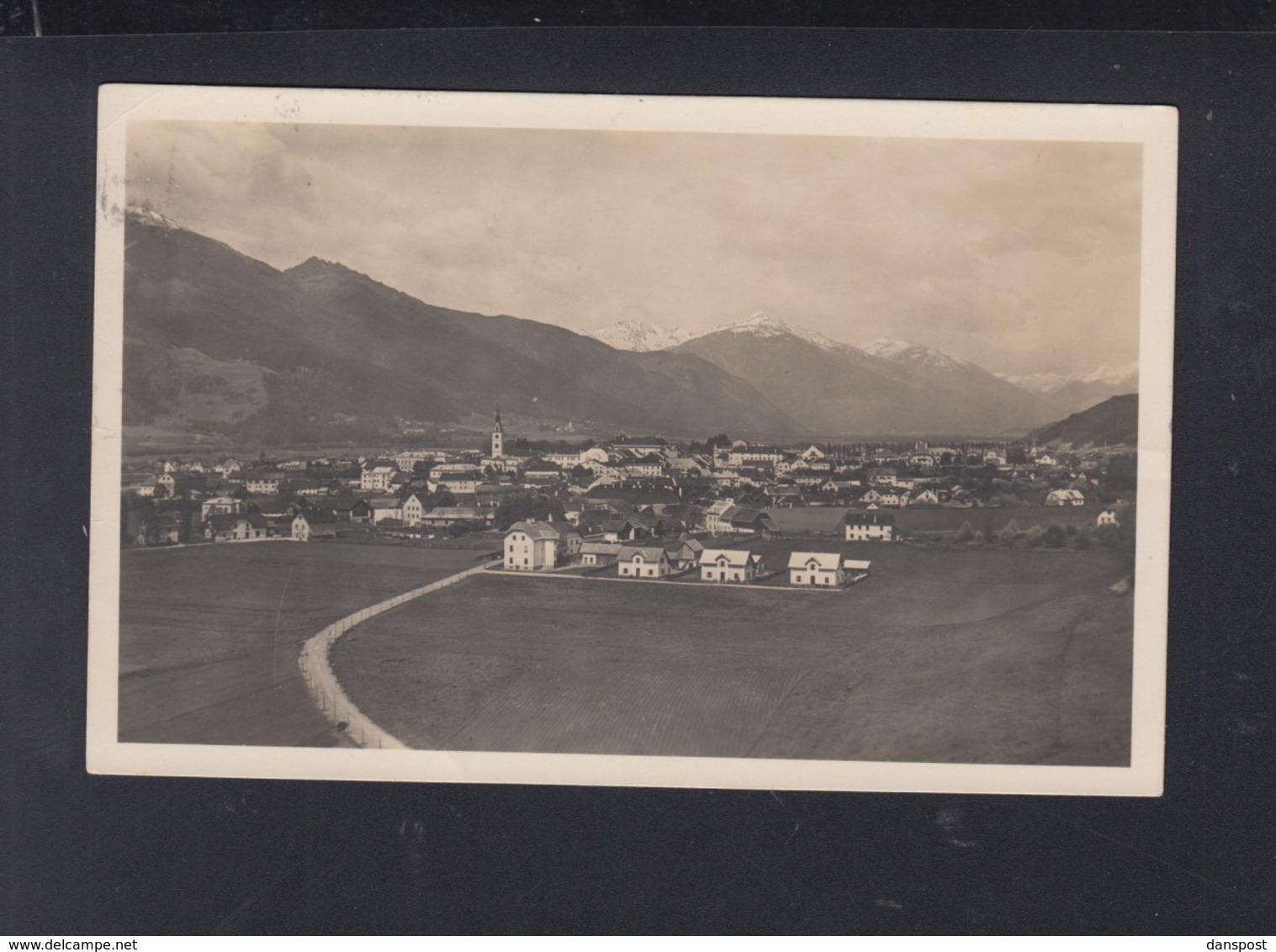 Österreich AK Spittal A.d. Drau 1933 - Spittal An Der Drau