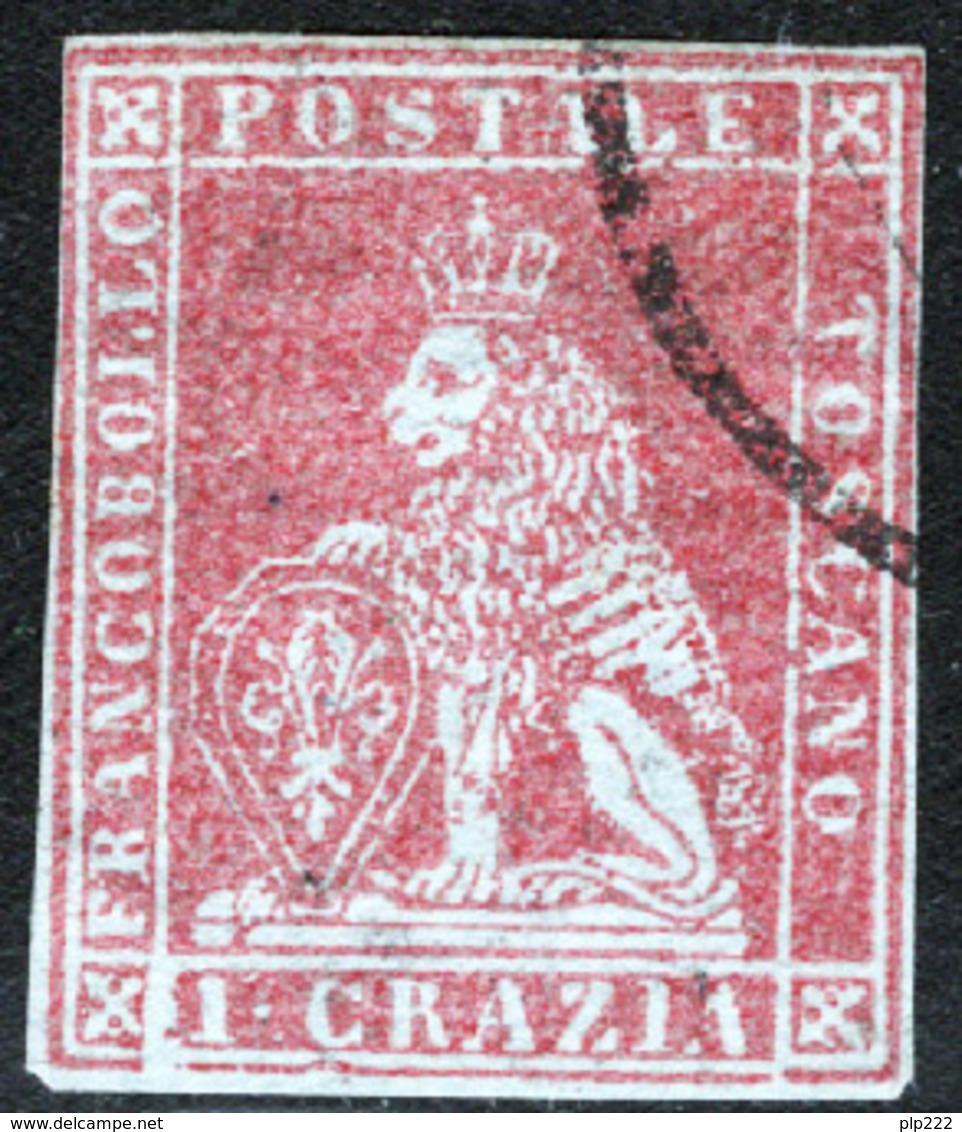 Toscana 1851 Sass.4a O/Used VF/F - Tuscany