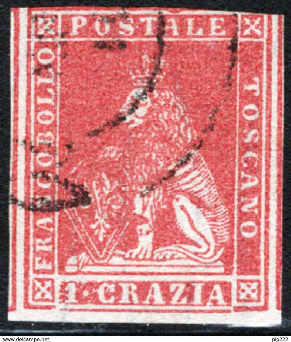 Toscana 1857 Sass.12 O/Used F - Tuscany