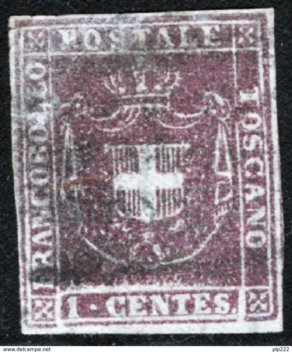 Toscana 1860 Governo Provvisorio Sass.17 O/Used VF/FF - Tuscany