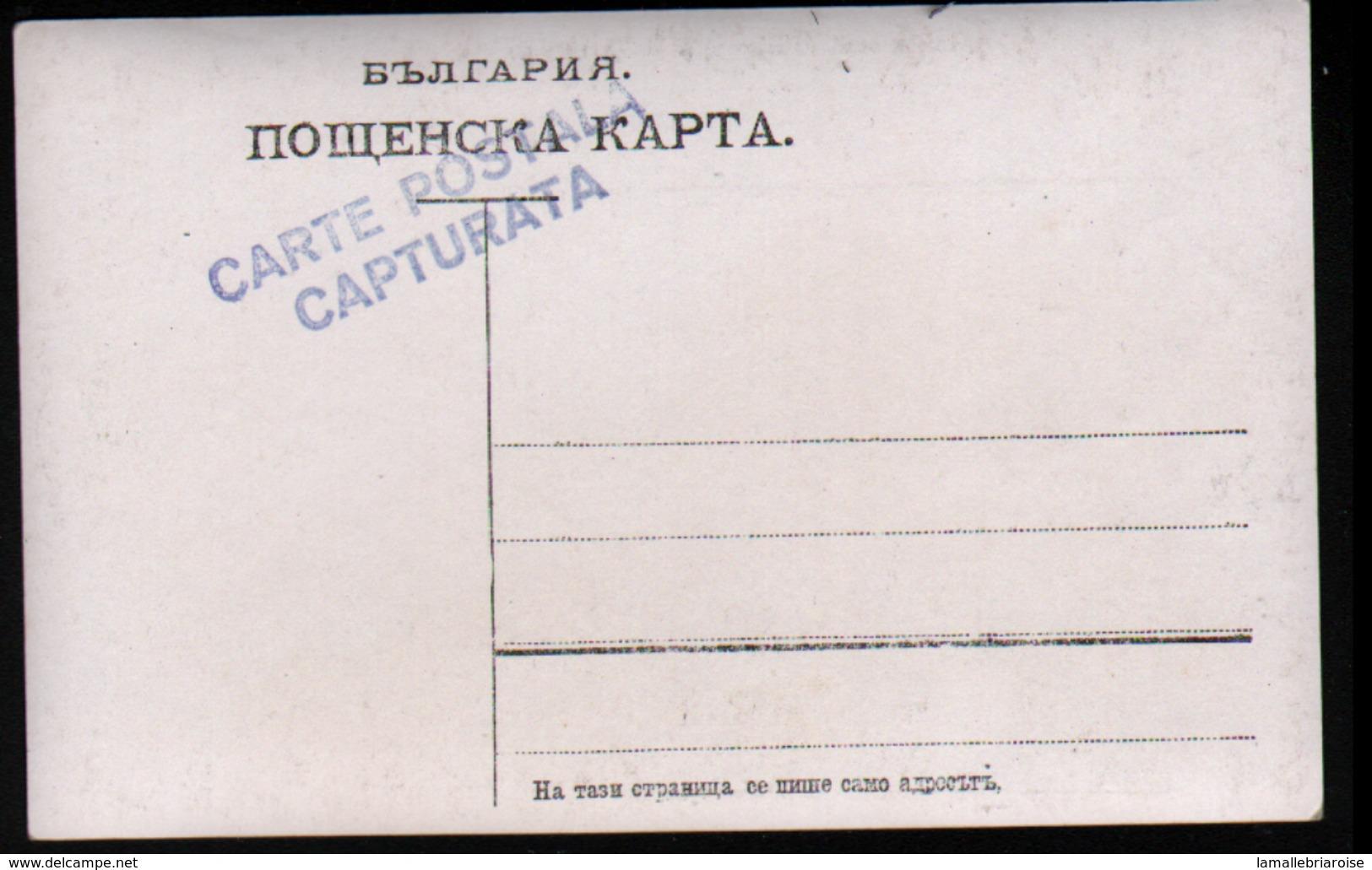 Militaria, Carte-photo D'un Soldat, Sur Papier Roumain, Voir Verso - Personen