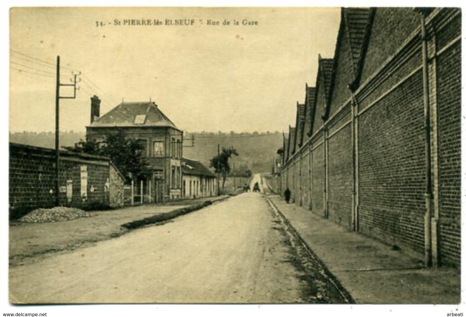 76 ST PIERRE-lès-ELBEUF ++ Rue De La Gare ++ - France
