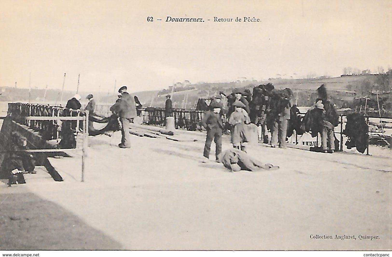 DOUARNENEZ ( 29 ) - Retour De Pêche - Douarnenez