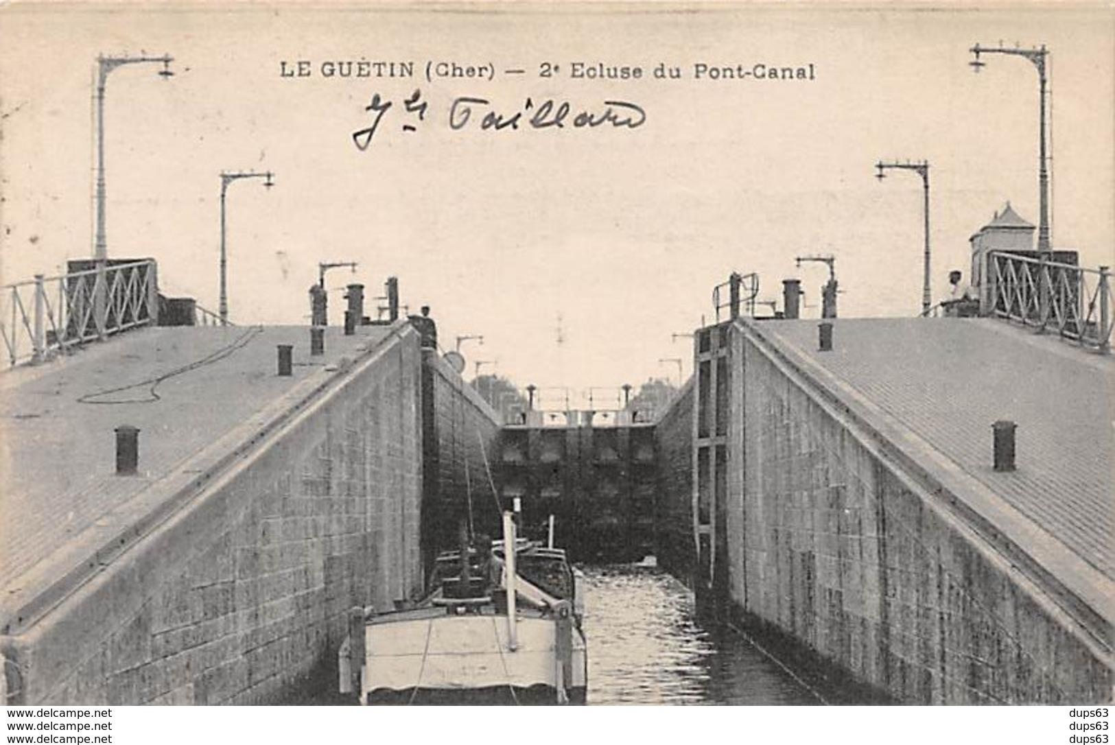 LE GUETIN - 2e Ecluse Du Pont Canal - Très Bon état - Autres Communes