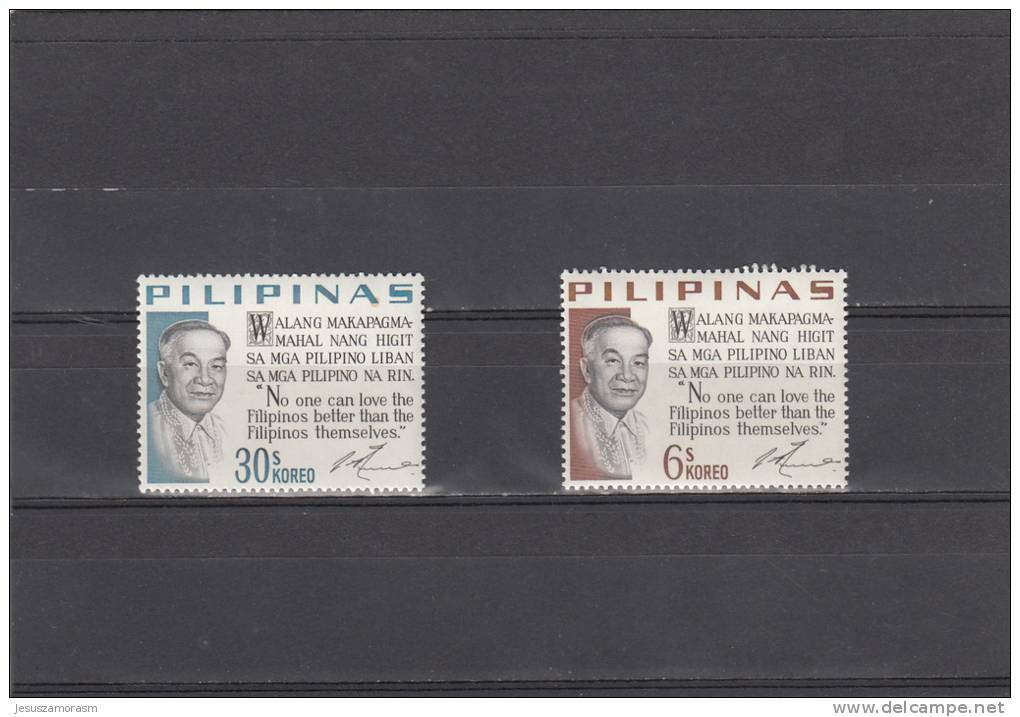 Filipinas Nº 658 Al 659 - Filipinas