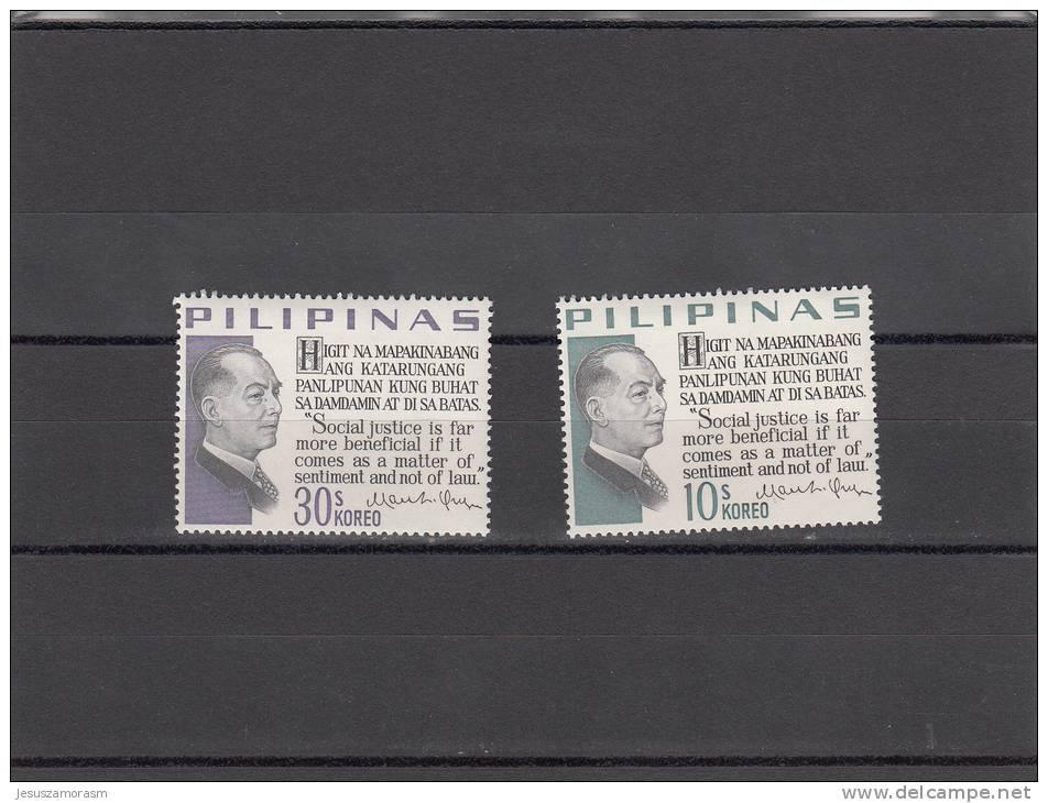 Filipinas Nº 678 Al 679 - Filipinas