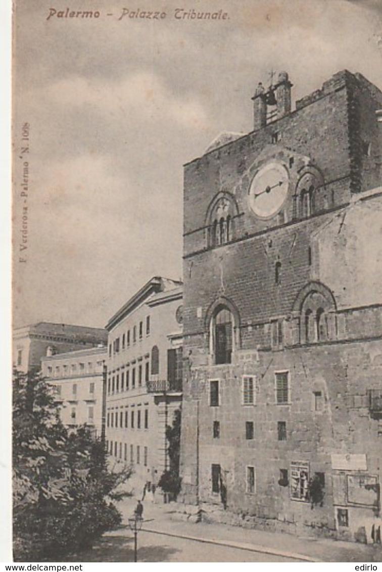 PALERMO   Palazzio Tribunale TTB Neuve / Unused  TTB - Palermo
