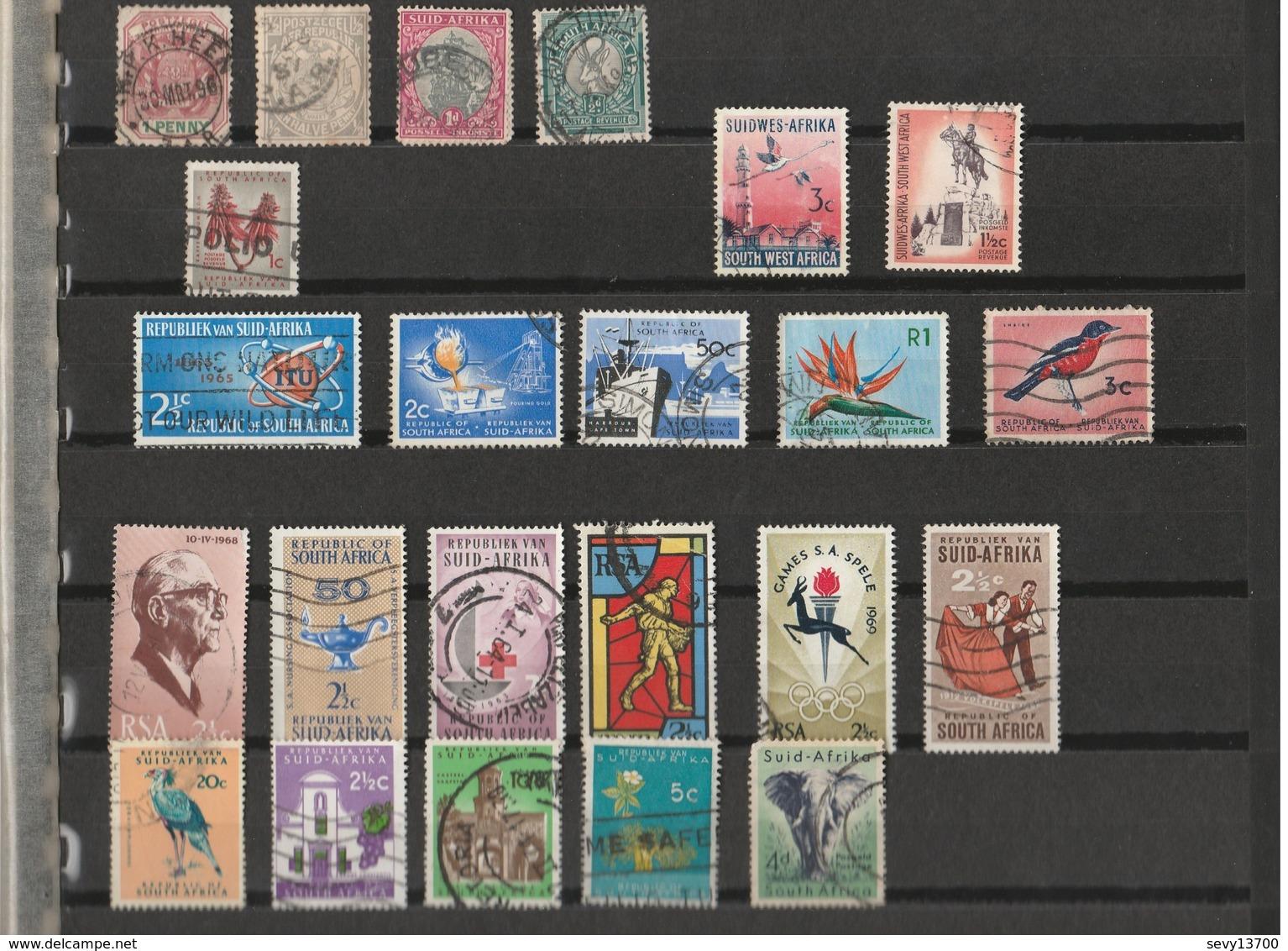 Lot De 23 Timbres Afrique Du Sud - Südafrika (1961-...)