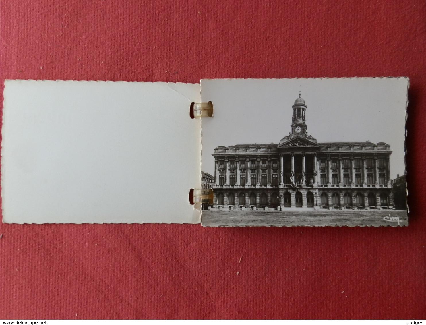 Dep 59 , Mini Carnet De Cp  CAMBRAI , 10 Vues En Photographie Véritable , 9x6,5 - Cambrai