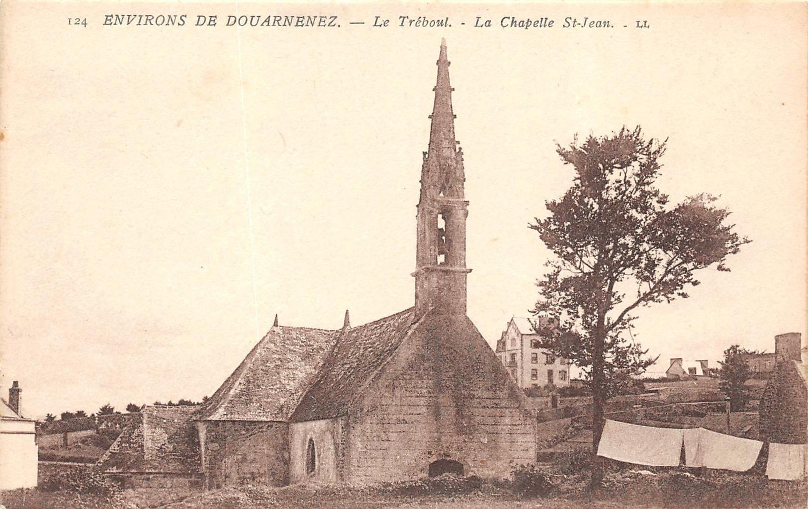 TREBOUL  Pres DOUARNENEZ  - La Chapelle Saint Jean ( LL 124) - Tréboul