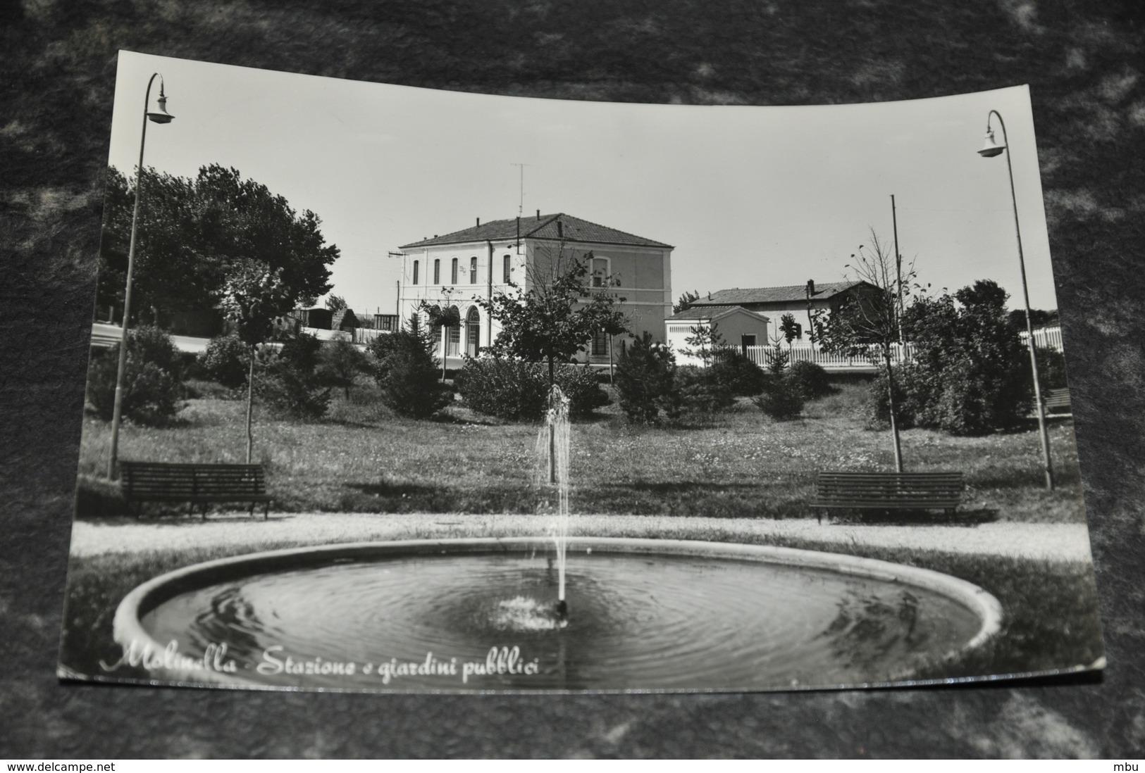 6206    MOLINELLA -GIARDINI PUBBLICI E STAZIONE - Bologna