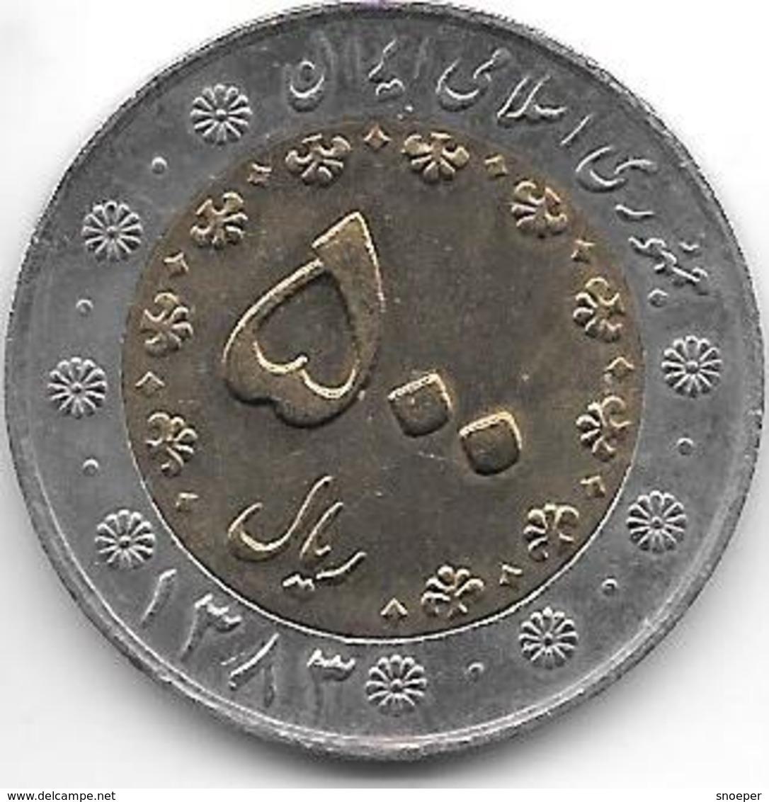Iran 500 Rials Sh1383 Km 1269   Unc - Iran