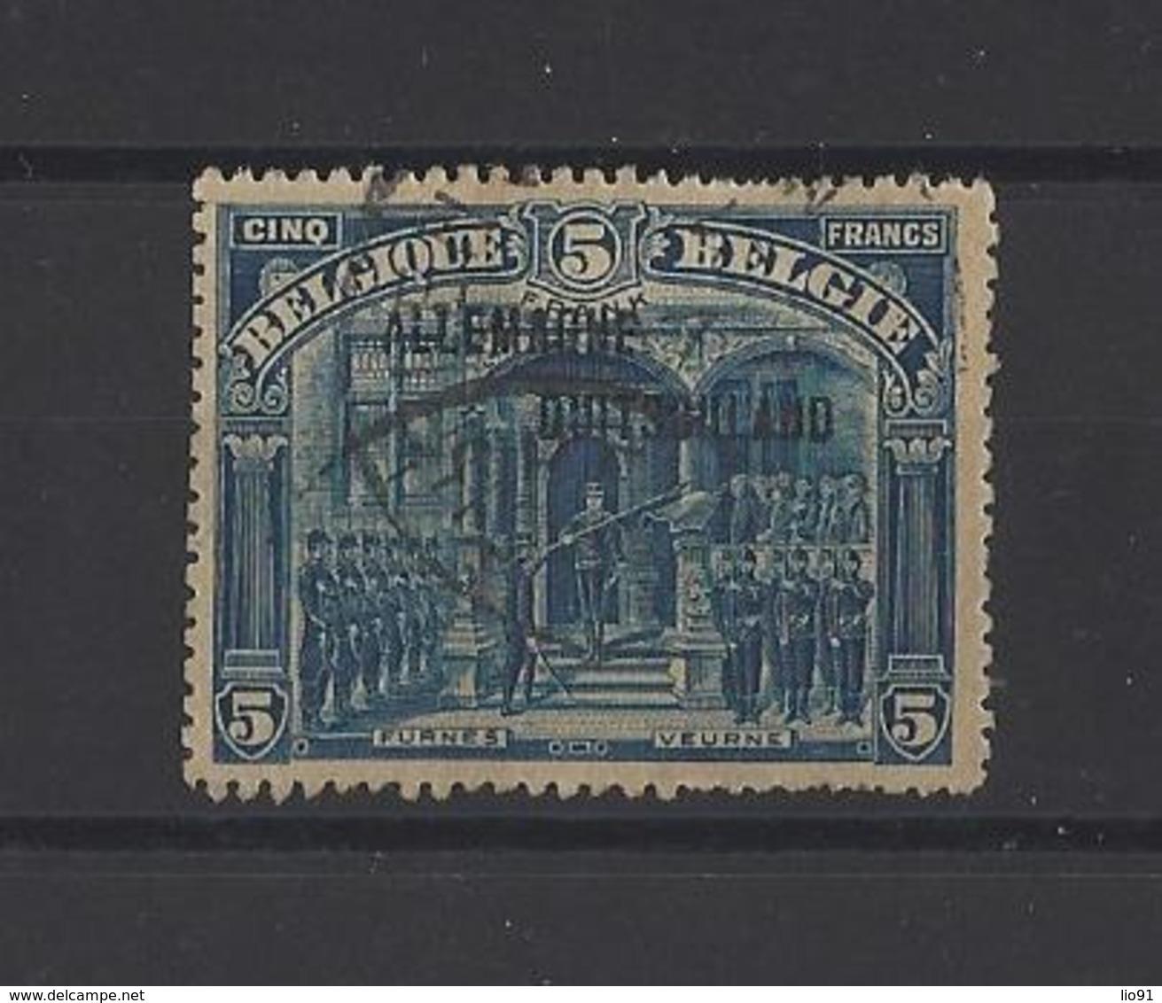 ALLEMAGNE Occupation Belge.  YT  N° 16  Obl  1920 - Zone Belge