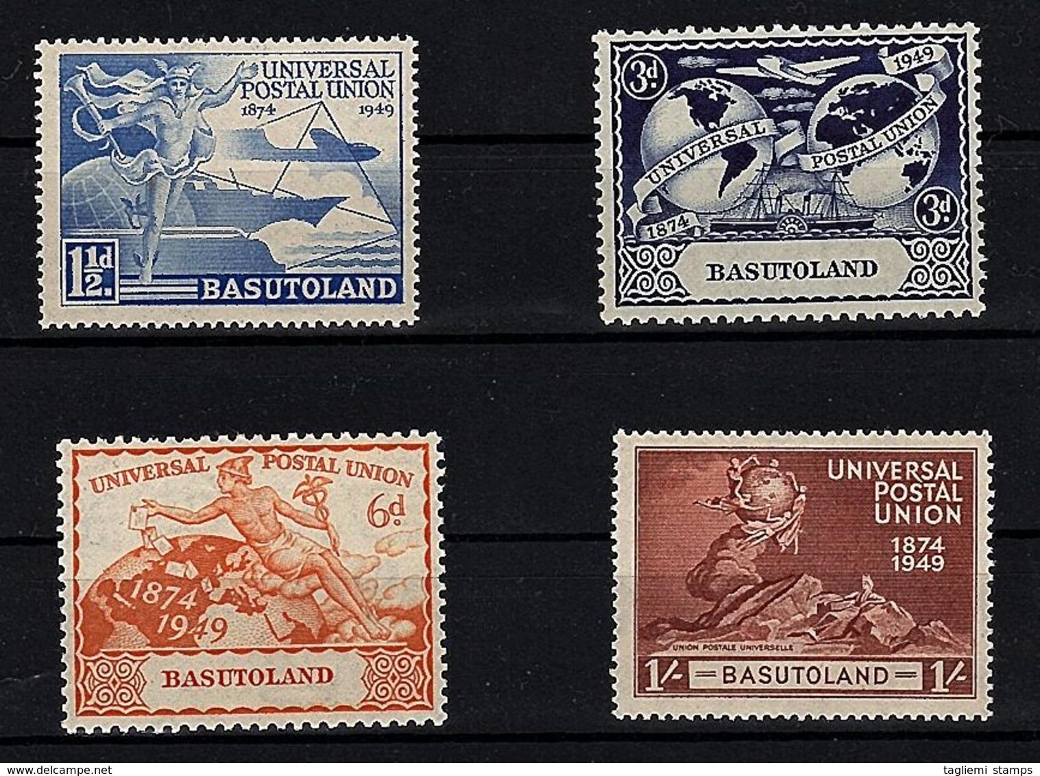 Basutoland, 1949, SG 38 - 41, MNH - 1933-1964 Crown Colony