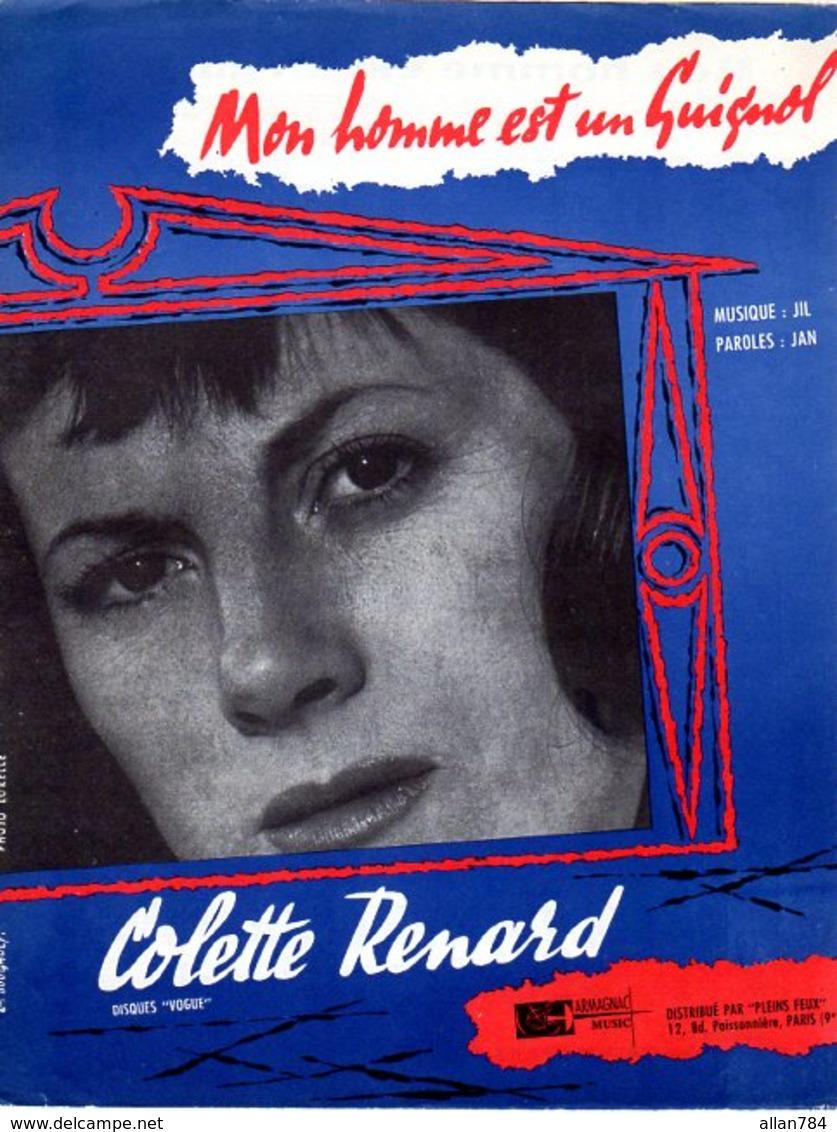 COLETTE RENARD - MON HOMME EST UN GUIGNOL - 1959 - EXCELLENT ETAT PROCHE DU NEUF - - Autres